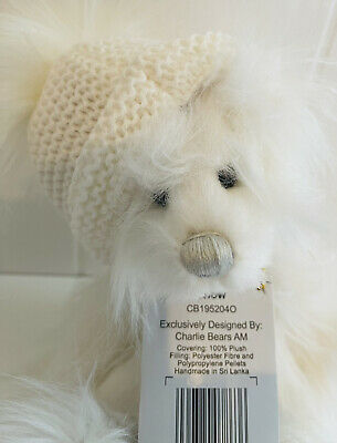 £40 • Buy Charlie Bears Snow Secret Collection Soft Toy Collectable