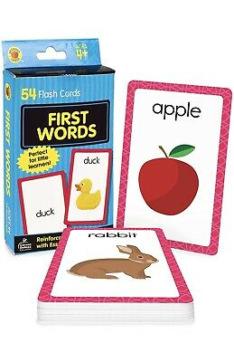£3.89 • Buy First Words Brighter Child Development Flash Cards Set Baby Learning Kids Card
