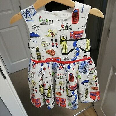 £4 • Buy Great Girls London Theme Dress From Next, Age 4!!