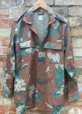 £60 • Buy SADF SOUTH AFRICAN SOLDIER 2000 Camo Long Sleeve Shirt Size 112 Cm Scarce 1994