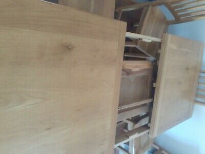 AU178 • Buy Heavy Wood Dining Table 6/8 Seats With Chairs