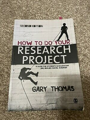 £10 • Buy How To Do Your Research Project Book By Gary Thomas. 2nd Edition.