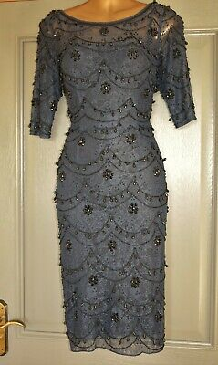 AU1.87 • Buy Monsoon Limited Edition Navy & Black Formal Occasion Wedding Party Dress Size 10