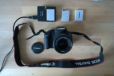£249.99 • Buy Canon EOS 650D DSLR Camera + EF-S 18-55mm IS Ll Lens Kit - Boxed - With Case