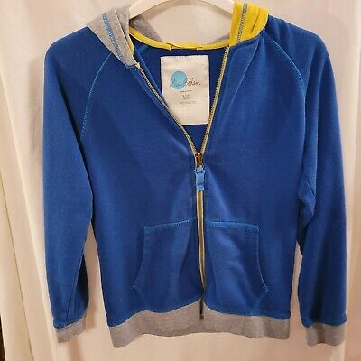 £6 • Buy Mini Boden Boys/Girls Multicoloured Zip Up Hoodie 9-10 Years Excellent Condition