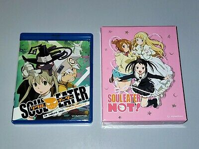 £59.99 • Buy Soul Eater + Not!: Complete Series [Blu-ray + DVD] Limited Edition US ANIME