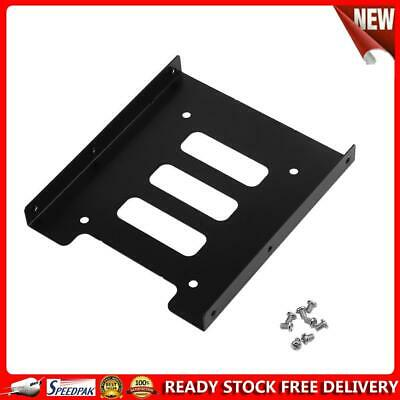 AU7.99 • Buy 2.5 Inch To 3.5 Inch SSD HDD Metal Adapter Mounting Bracket Hard Drive Dock
