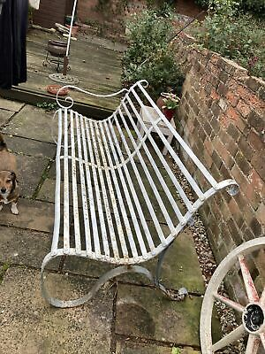 £500 • Buy Antique Wrought Iron Bench