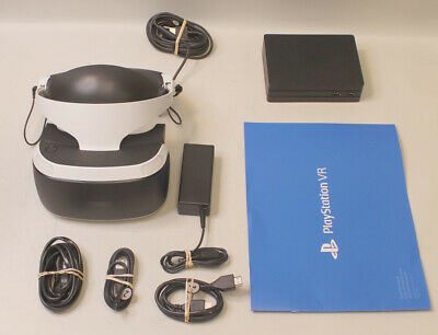 AU275.98 • Buy Sony PlayStation 4 PS4 VR Headset CUH-ZVR2 W/ Extras