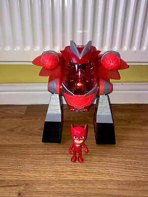 £5 • Buy PJ Masks Toys Playset Bundle Turbo Movers Shooter  Accessories Owlette Figures