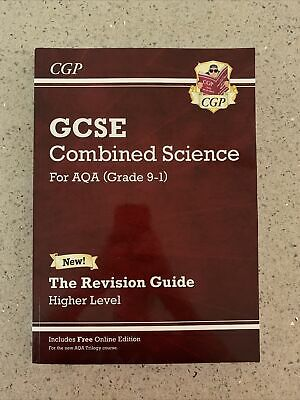 £1.99 • Buy CGP GCSE Combined Science For AQA Level Grade 9-1 Revision Guide