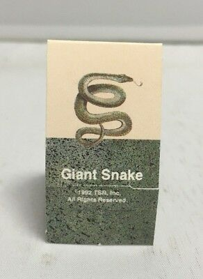 AU2.75 • Buy Dungeons & Dragons Dragon Quest Board Game Replacement Giant Snake Stand Up