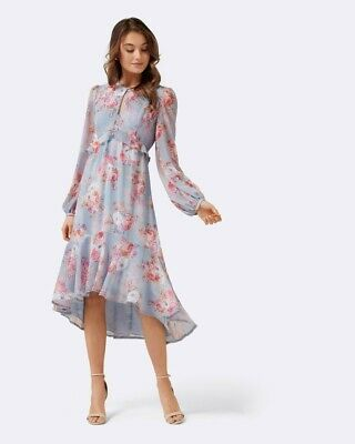 AU20 • Buy Stunning Forever New Floral Midi Dress Size 6