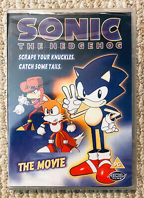 £0.72 • Buy SONIC THE HEDGEHOG The Movie Rare OOP **ALL REGION DVD USA** Animated Brand NEW