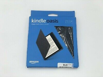 AU18.86 • Buy Amazon Kindle Oasis Water-Safe Fabric Cover (9th & 10th Gen Only) - Charcoal BLK