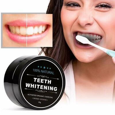 AU5.18 • Buy 100%organic Activated Charcoal Coconut Teeth Whitening Powder Carbo Natural NEW