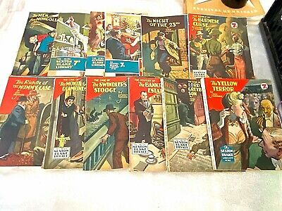 £14 • Buy Rare Vintage Sexton Blake Library Book Series Numbers 100 To 151, 12 Books Total