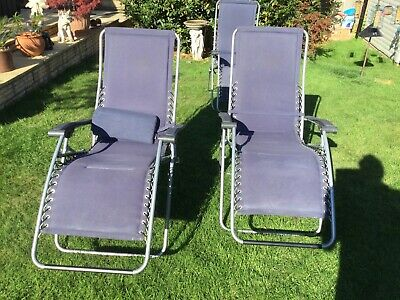 £100 • Buy Lafuma Loungers Pair In Good Condition