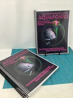 £14.66 • Buy Aquaponics Commercial Training & Family System Greenhouse Manuals ( 2)