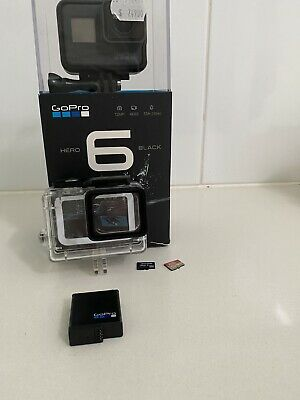 AU399 • Buy Gopro Hero 6 Black + Extra Battery + Dual Charger + Housing Case Waterproof + SD