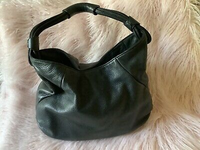 AU60 • Buy Large Black Leather Hobo Signature 0 Oroton Handbag In Excellent Condition
