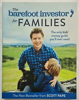 AU19.95 • Buy The Barefoot Investor For Families By Scott Pape