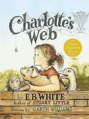 £10 • Buy Charlotte's Web By E.B White 2010 First Illustrated UK Puffin HBK Edition In DW