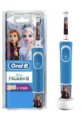 AU37.74 • Buy Braun Oral-B Stages Kids 3+ Years - Disney Frozen - Rechargeable Toothbrush