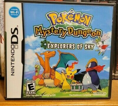 $35 • Buy Pokemon Mystery Dungeon: Explorers Of Sky - CASE AND MANUAL