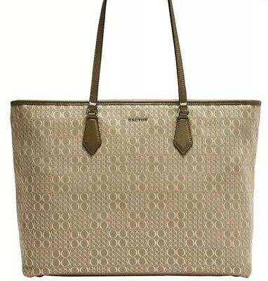 AU2.25 • Buy Oroton Tote Canvas Signet Fawn GREAT CHRISTMAS PRESENT 🎁