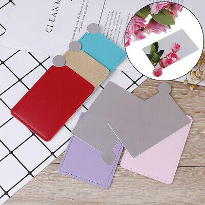 £4.83 • Buy Card Pocket Mirror Makeup Portable Travel Stainless Steel Unbreakable~
