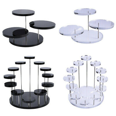 £11.74 • Buy Cupcake Stand Acrylic Display Stand For Jewelry Cake Dessert Rack Party  FF