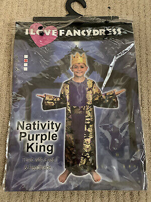 £0.99 • Buy Nativity King/Wise Man Costume Age 4-6 Years