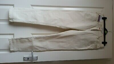 £6.50 • Buy Next Off White Relaxed Skinny Jeans Size 12 Tall