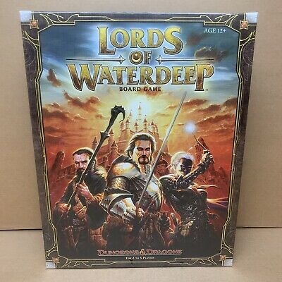 AU67.04 • Buy Lords Of Waterdeep Dungeons And Dragons Board Game
