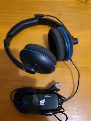 AU49.90 • Buy Sony Playstation 4 (PS4) Turtle Beach Gaming Headset - P12 Ear Force