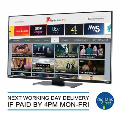 £424.99 • Buy Avtex D249FVP 24″ Connected HDTV With Freeview Play – 12V/240V – With DVD Player