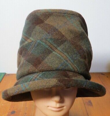 £7.30 • Buy OLNEY Edith Ladies Checked Tweed Hat Used Condition