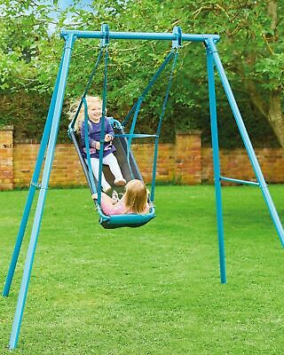 £99.99 • Buy TP TOYS Pirate Boat Swing Seat With Frame Childs Garden Playground Swing Toy