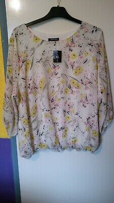 £2.99 • Buy Forever By Michael Gold Size Xl Multi Floral Pretty Top New Tagged