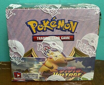 $175 • Buy Pokemon TCG: Vivid Voltage BOOSTER BOX   36 Packs   NEW, FACTORY SEALED