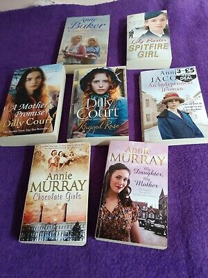 £5.49 • Buy Any 4 Titles From Anne Baker,Lily Baxter,Dilly Court,Anna Jacaobs & Annie Murray