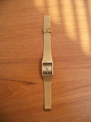 £22.50 • Buy  ACCURIST SLIM  101000 Gold Plated  Watch.