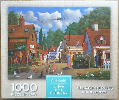 £3.99 • Buy WHSmith 1000 Piece Jigsaw Puzzle - Life In The Country Range - Village Heroes