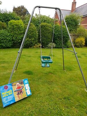 £40 • Buy Tp Outdoor Swing Plus Nursery And Jungle Gym Child's Seat