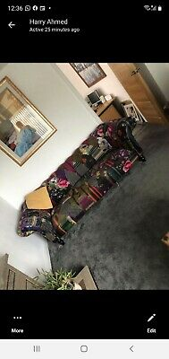 £50 • Buy Patchwork Chesterfield Sofa