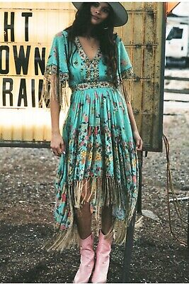 AU150 • Buy Spell And The Gypsy Collective  Hendrix Dress Size M