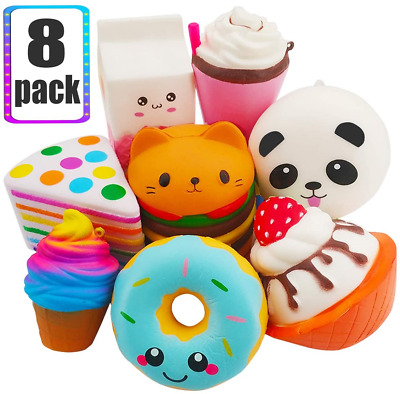 AU45.52 • Buy NORTHERN BROTHERS Squishies - Jumbo Squishies Pack Squishys For Girls And Boys