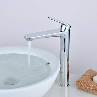 £105.99 • Buy Kelelife Bathroom Counter Top Sink Tap Basin Mixer With Tall Spout, Polished
