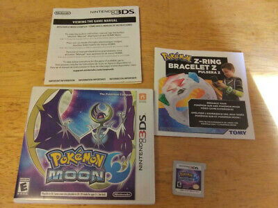 $24.95 • Buy Pokemon Moon (Nintendo 3DS, 2016) CIB - Complete - Tested - Works Great!!